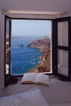 Window to Aegean Sea