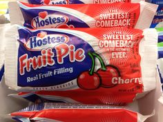 Used to love these.  Hostess fruit pies.