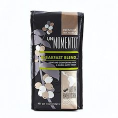 Un Momento Coffee (Breakfast Blend) 100% arabica coffee sourced from latin america with a smooth and balanced taste Mellow notes of chocolate with a  lively, citrus tang Light and tangy, with a clean finish https://food.boutiquecloset.com/product/un-momento-coffee-breakfast-blend/