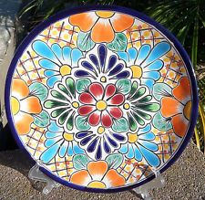 Talavera Mexican pottery lunch dinner plate 10
