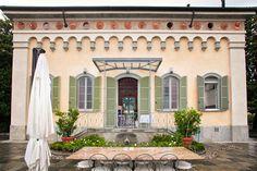 Villa di Delizia, la terrazza