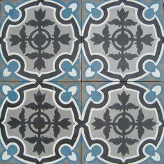 Carrelages Du Marais Authentic Tiles via marinagiller.com