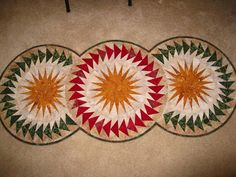 Seasonal Table Runner, Quiltworx.com, Made by Tammy Huffman Gardner