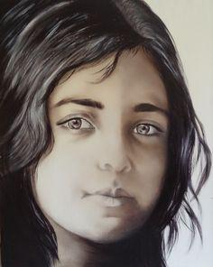 Turkish Girl; Monochromatic Portrait Study | Nersel zur Muehlen
