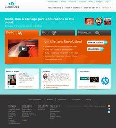 The website 'cloudbees.com' courtesy of Pinstamatic (http://pinstamatic.com)