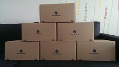 Krabice sú pripravené / Boxes are ready :)