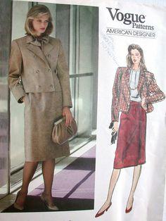 Vogue American Designer Pattern No 1281 UNCUT by CaliforniaSunset, $10.00