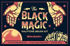 Graphic Design - Graphic Design Ideas  - Black Magic Vector Halftone Brushes by RetroSupply Co. on Creative Market   Graphic Design Ideas :     – Picture :     – Description  Black Magic Vector Halftone Brushes by RetroSupply Co. on Creative Market  -Read More –
