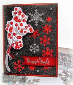 Snowhaven card made with Complements