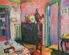 Wassily Kandinsky. Interior (My Dining Room), 1909