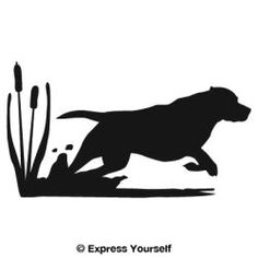 The Get It Boy! Lab Hunting Dog Decal will look great on your truck, car, trailer or any of your hunting gear that has a clean, smooth finish. These decal stickers are available in a choice of colors and these approximate sizes (inches): Small: 6.25 X 3.5 Medium: 10 x 5.5 Large: 13.5 x 7.5 Note: Lighter colors show up better on tinted windows.