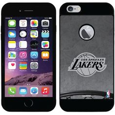 Coveroo Los Angeles Lakers iPhone 6 Plus Case ($30) ❤ liked on Polyvore featuring accessories, tech accessories and purple