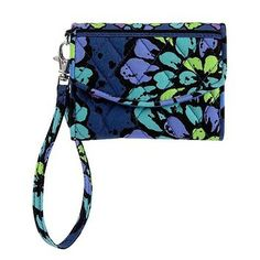 Vera Bradley Super Smart Indigo Pop Wristlet $28 http://www.tradesy.com/bags/vera-bradley-wristlet-indigo-pop-966802?utm_source=PINutm_content=PIN0001utm_medium=Pinterestutm_campaign=productsharefb_id=1101009