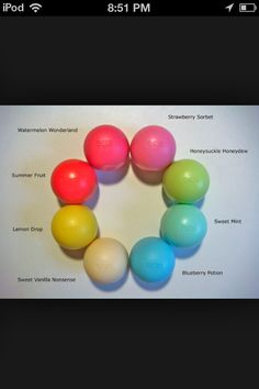 I. Must. Collect. Them. All. EOS! Already have strawberry and lemon!