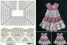 Dress child crochet pattern