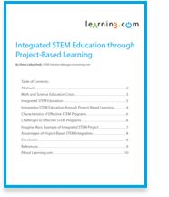 STEM education through Project-Based Learning