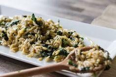 Κριθαρότο με σπανάκι και φέτα! Μία αγαπημένη, χορταστική και αρωματική συνταγή από τον Άκη!