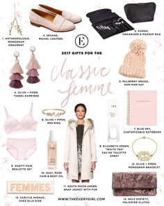 2017 Budget-Friendly Holiday Gift Guide The Everygirl 2017 Holiday Gift Guide for the Classic Femme Gifts For Girls, Gifts For Women, Gifts For Her, Holiday Gift Guide, Holiday Gifts, Christmas Gifts, Diy Gifts, Unique Gifts, Makeup Bag Organization