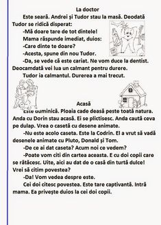 : Să citim: d și D Romanian Language, Kids Education, Speech Therapy, Kids And Parenting, Homeschool, Nostalgia, Learning, Languages, Early Education