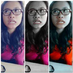 look ! smart face ! :D