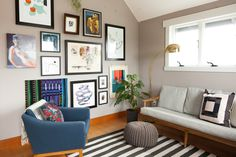 House Tour: A Modern Live/Work Space in Portland | Apartment Therapy
