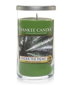 Another great find on #zulily! Under the Palms Medium Perfect Pillar Candle #zulilyfinds