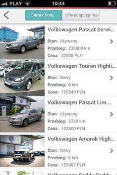 Sprzedaż samochodów #volkswagen za pomocą aplikacji mobilnej.  #dealershipapps #mobileapps #aplikacjewebowe
