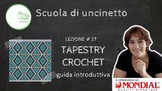 Lezione #27 - Tapestry crochet - guida introduttiva