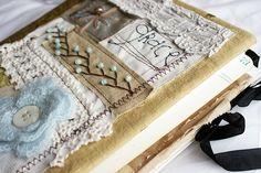 art quilt journal, grace (sold)