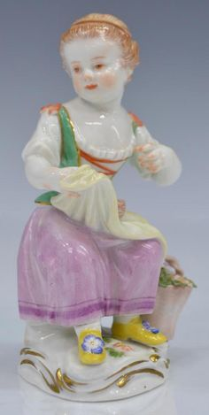 (2) MEISSEN PORCELAIN FIGURES OF CHILDREN - 5
