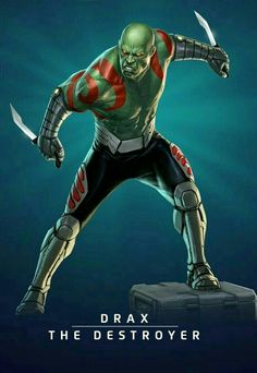 DRAX THE DESTROYER.