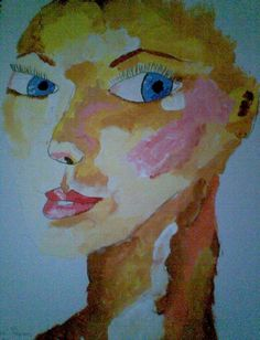 My art work  abstract, acrylic  'charlize tharon'