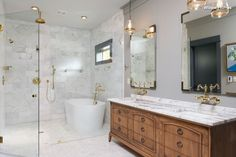 Love this bathroom and vanity. I would change the lighting though. http://www.houzz.com/ideabooks/69200585?utm_source=Houzz&utm_campaign=u3359&utm_medium=email&utm_content=gallery2