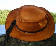 How To Make A Leather Bushcraft Hat