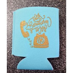 Judith March Talk Southern To Me Koozie
