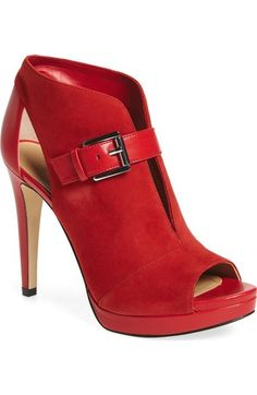 MICHAEL Michael Kors 'Isabella' Split Shaft Platform Bootie (Women) available at #Nordstrom