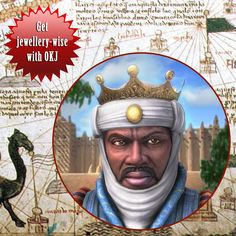 Know who this is? He is Mansa Musa Mali, the richest man in the history of mankind. He was said to have taken more than 500 people with him on the hajj, each carrying a staff of solid gold.