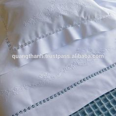 Luxury Sheets, School Projects, Home Deco, Bed Sheets, Hand Embroidery, Sari, Cotton, Linens, Babies