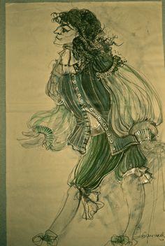 Milica Martic #shimur #costume #design #sketch