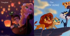 Prince Kido takes an adorable look at our favorite classic Disney movies.