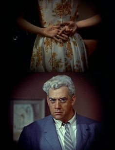 "Grace Kelly & Raymond Burr in ""Rear Window"" (1954, dir. Alfred Hitchcock)"