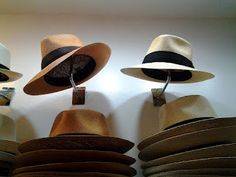 Teddy Roosevelt popularized the Panama Hat in the United States.