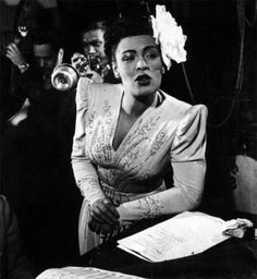 """""""MAMA MAY HAVE, PAPA MAY HAVE, GOD BLESS THE CHILD THAT GOT HIS OWN…"""" Billie Holiday, jazz legend Source of pic: pinterest.com jazz #billie holiday#jazz#sarah vaughan"""