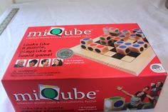 Mindware MIQUBE: Both Puzzle & Fun Visual Spatial Strategy Game for Ages 7+