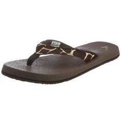 Sanuk Women's Yoga Safari Thong Sandal >>> You can get more details by clicking on the image.