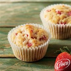 Double Strawberry Muffins from Crisco�