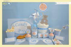 Mira este artículo en mi tienda de Etsy: https://www.etsy.com/es/listing/462957347/decoracion-baby-shower-bautizo-candy-bar