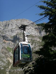 Fuente Dé Cable Car, breathtaking ride up and fantastic views from the top, in Camaleño, Cantabría, Spain
