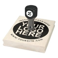 Round Custom Your Company Logo Large Stamp Custom Rubber Stamps, Wood Stamp, Self Inking Stamps, Foam Cushions, Wooden Handles, Custom Logos, Laser Engraving, Wood Art, Keep It Cleaner