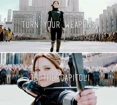 """""""Tonight. Turn your weapons to the Capitol."""""""